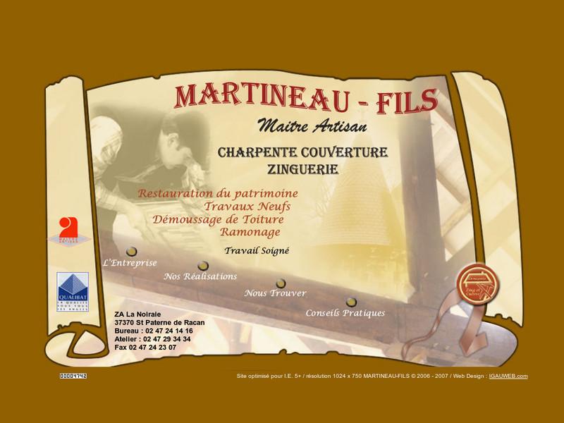 Martineau Fils - Saint Paterne de Racan
