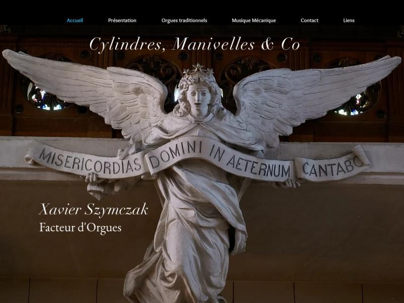 Cylindres Manivelles et Co - Xavier Szymczak - www.orgues-xavier-szymczak.com