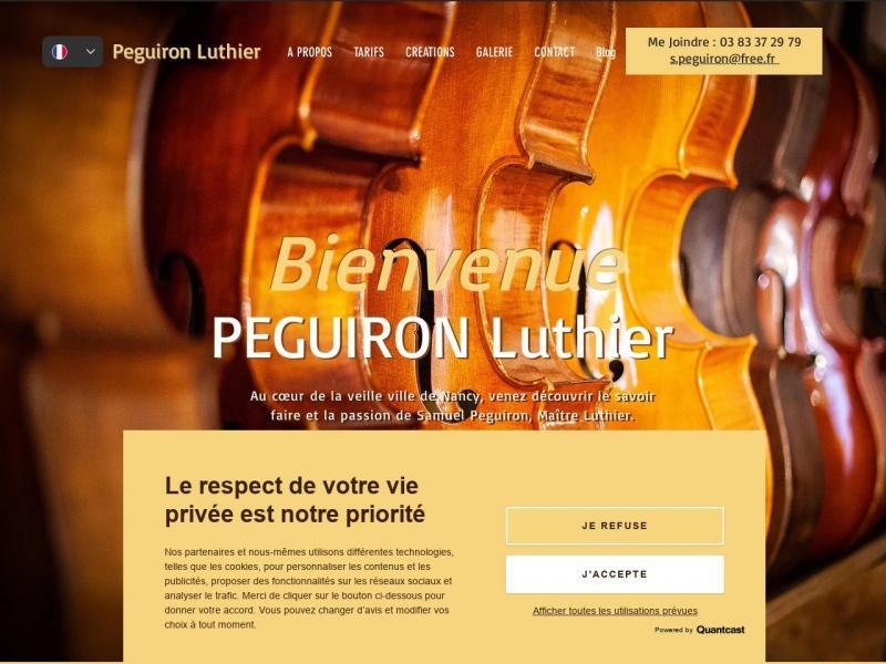 Peguiron Luthier - Nancy