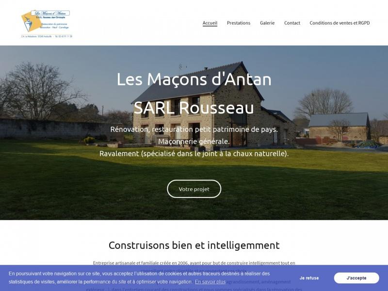 Les Maçons d'Antan - SARL Rousseau - Andouillé