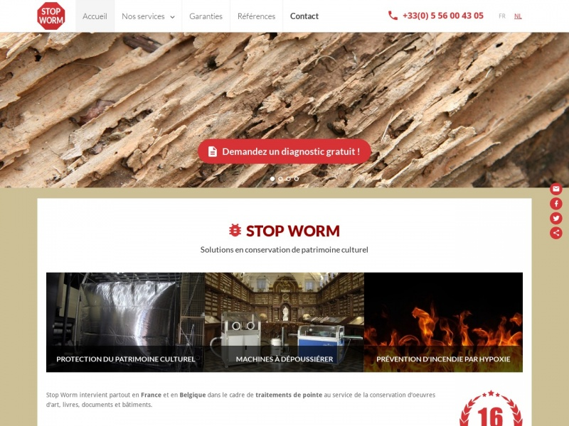 Stop Worm - Bordeaux