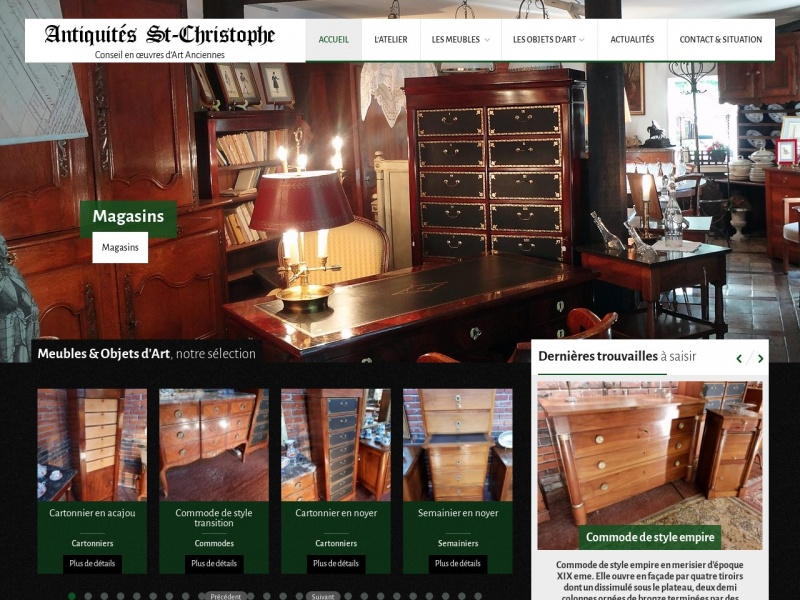Antiquités Saint Christophe - Soissons