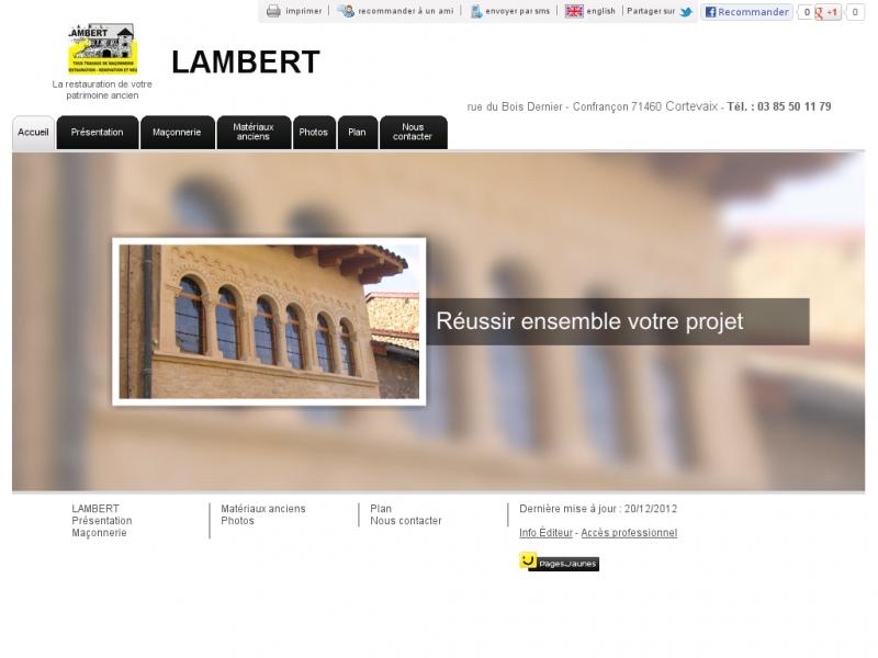 Lambert - Cortevaix