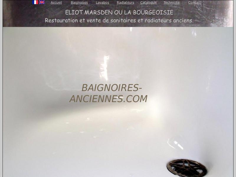 Eliot Marsden - La Bourgeoisie - Saint Thomas de Courceriers