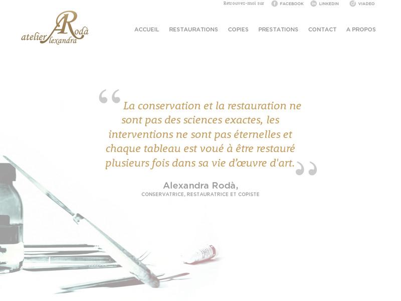 Atelier Alexandra Rodà - Strasbourg