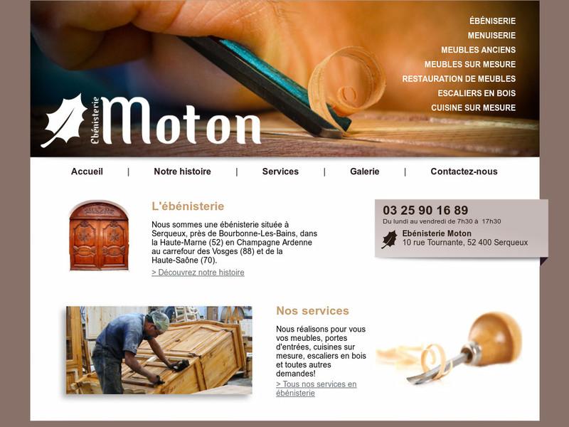 Ebénisterie Moton - Serqueux