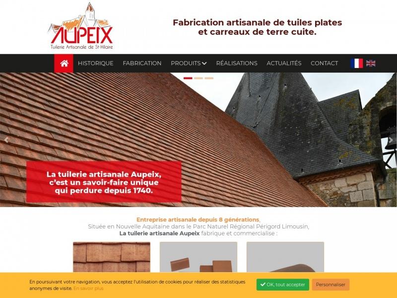 Tuilerie Aupeix - Saint Hilaire les Places