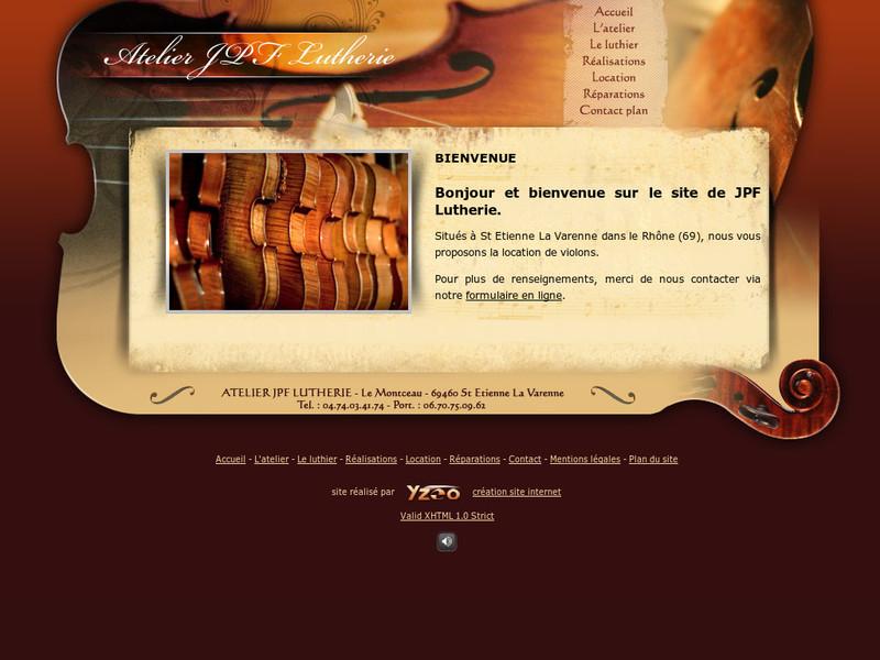 JPF Lutherie - Saint Etienne la Varenne