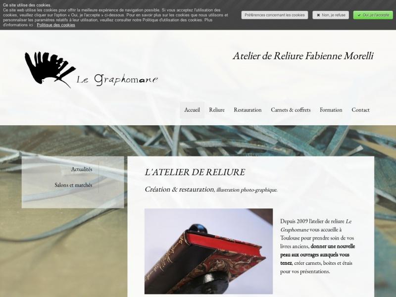 Le Graphomane - Fabienne Morelli - Toulouse