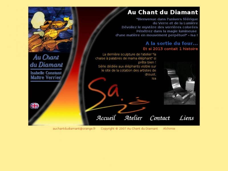 Au Chant du Diamant - Isabelle Constant - Senillé