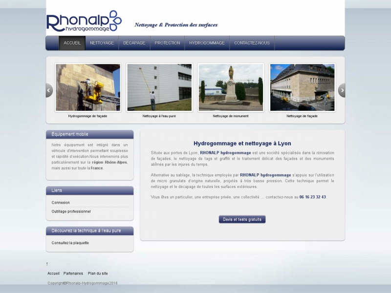 Rhonalp Hydrogommage - Villefranche sur Saône