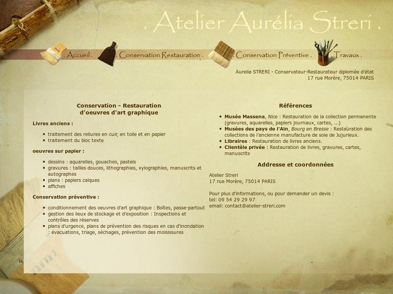 Atelier Aurélia Streri - Paris 14e