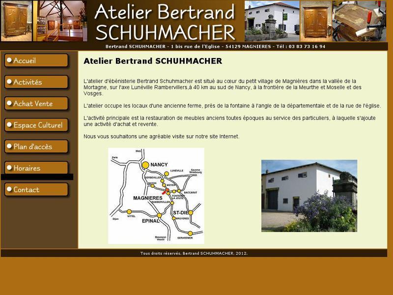 Bertrand Schuhmacher - Magnières