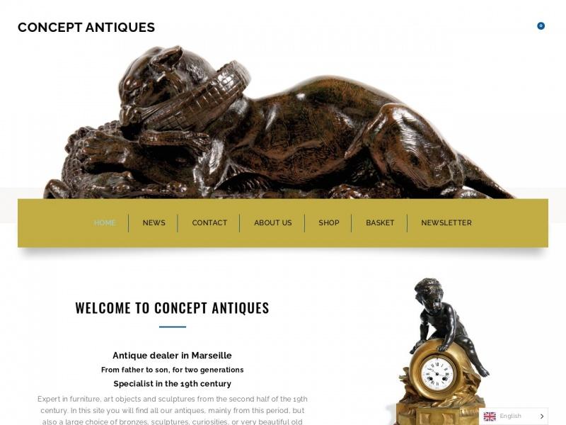Concept Antiques - Eric Farnet - Marseille 13e
