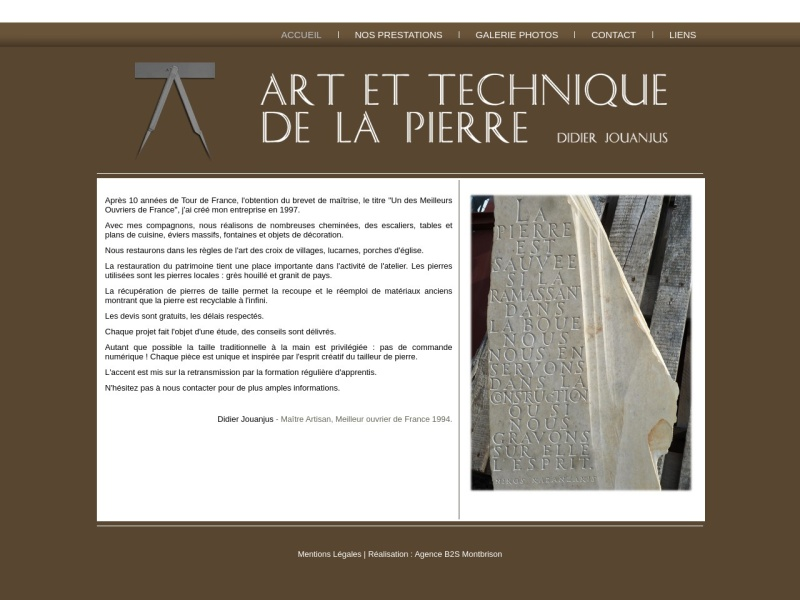 Art et Technique de la Pierre - Savigneux