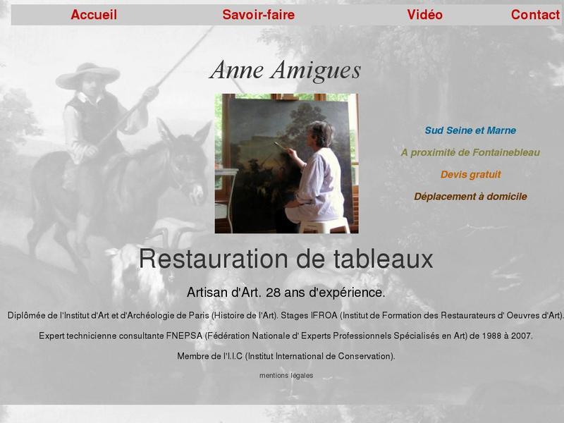 Anne Amigues - Varennes sur Seine