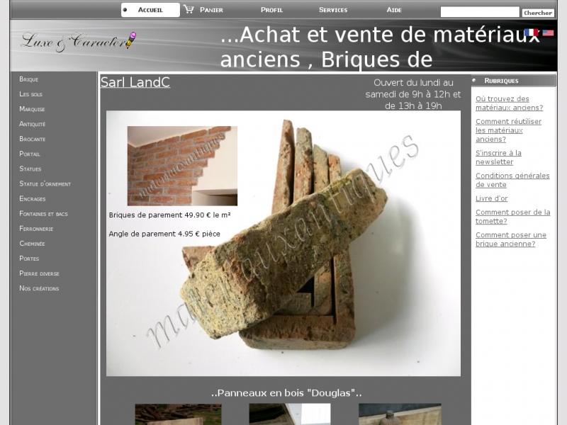 Luxe et Caractère - www.materiauxantiques.com