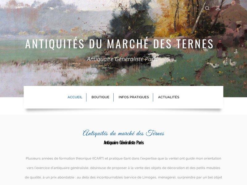 Antiquités du Marché des Ternes - Paris 17e