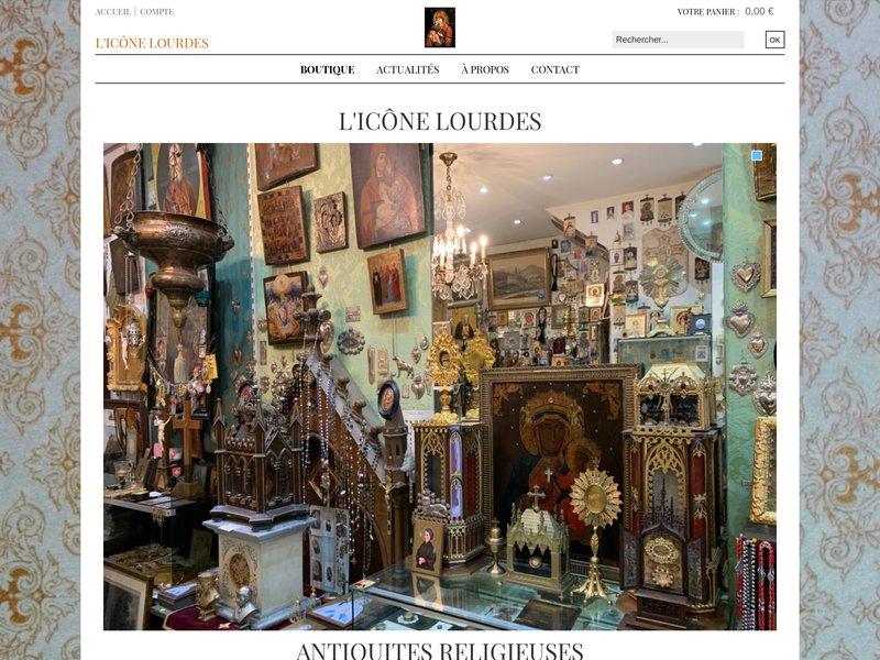 L'Icône - Jean-Luc Theallet - Lourdes