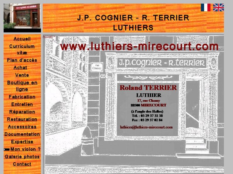 Cognier - Terrier - Mirecourt