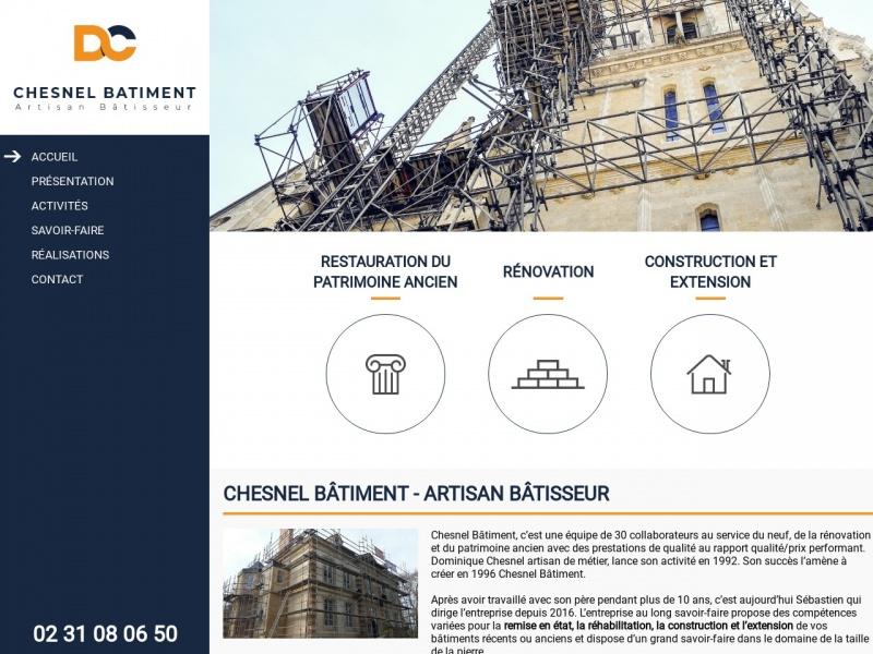 Chesnel Bâtiment SA - Esquay Notre Dame