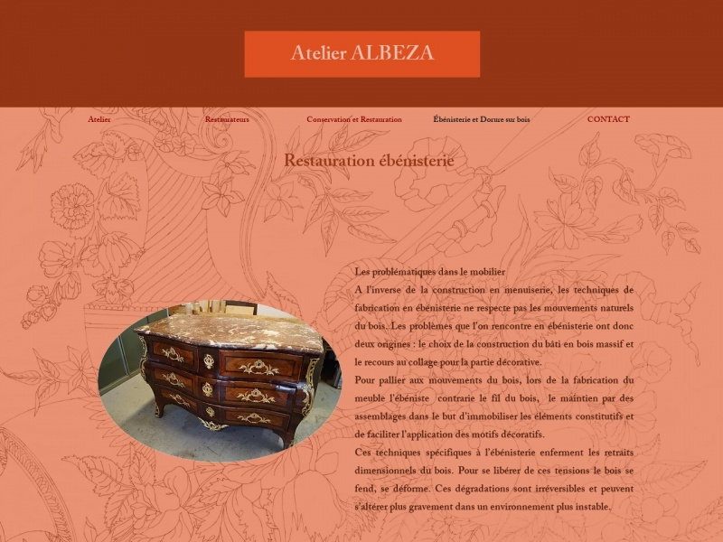 Atelier Albeza - L'Ebène de Macassar - Périgny sur Yerres