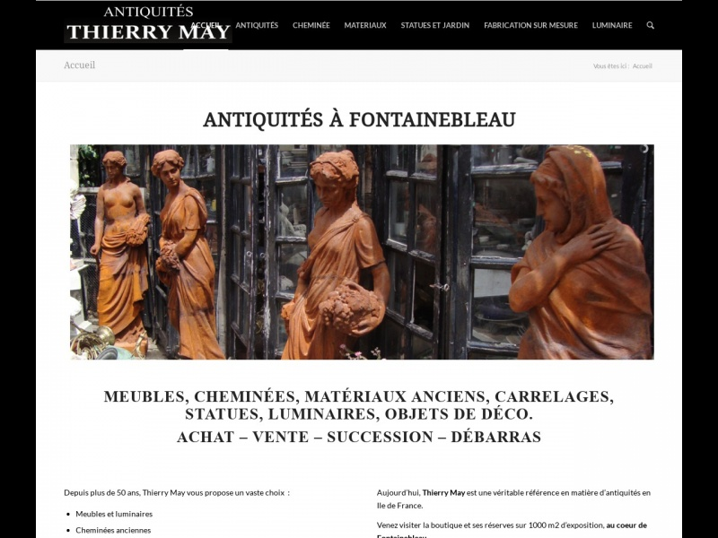 Thierry May - Fontainebleau