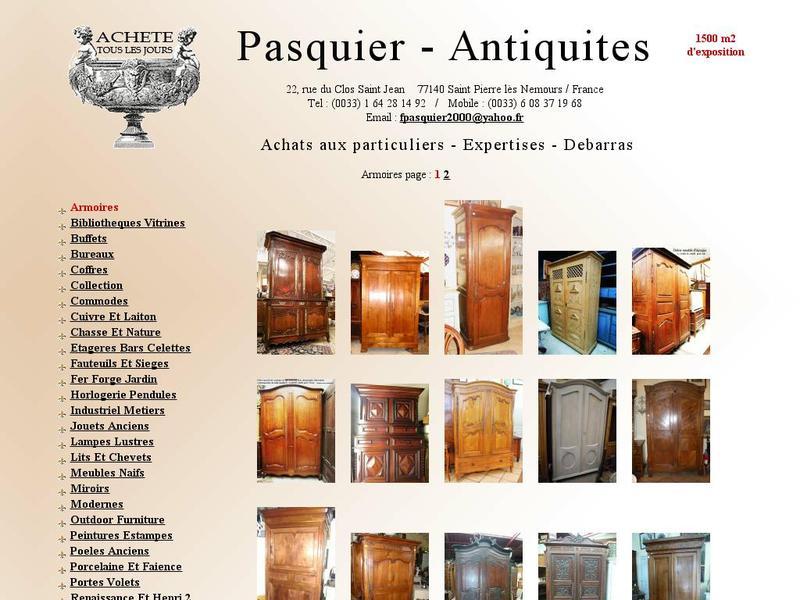 Pasquier Antiquités - Saint Pierre lès Nemours