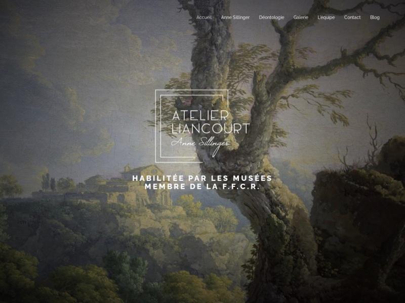 Anne Sillinger - Atelier Liancourt - Paris 14e