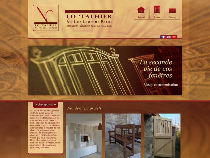 Lo'Talhier - Atelier Laurent Parot - Saint Jean Ligoure