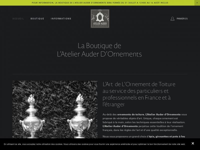 Atelier Auder d'Ornements - Baugé en Anjou