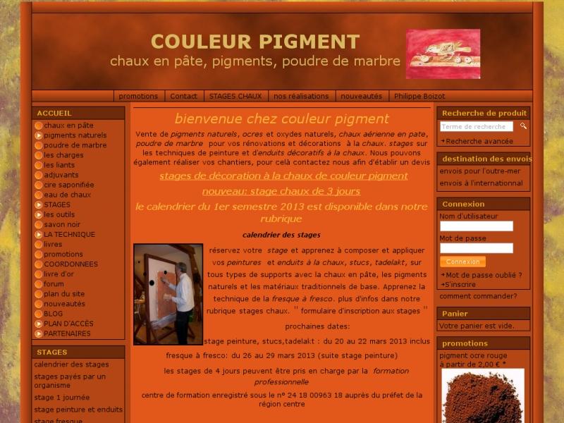 Couleur Pigment - Foëcy
