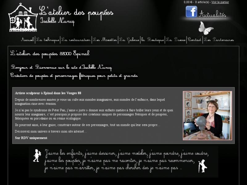 L'Atelier des Poupées - Isabelle Nuncq - Epinal