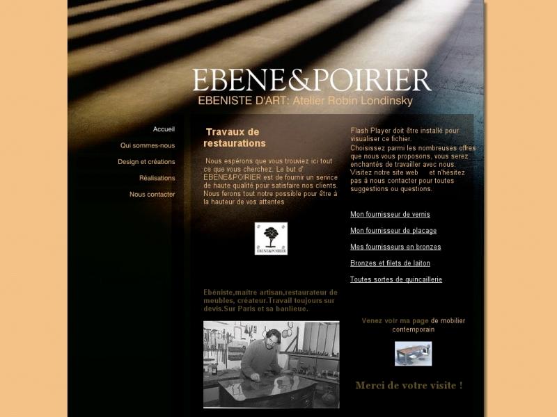 Ebène et Poirier - Gambais
