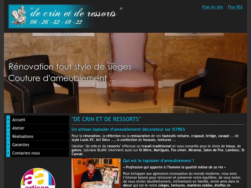 De Crin et de Ressorts - www.crinetressorts.lesite.pro