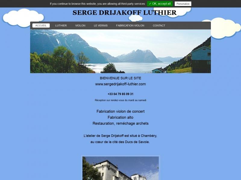 Serge Drijakoff - Chambéry