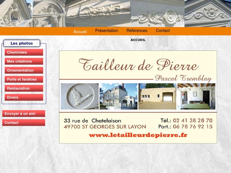 Pascal Tremblay - Saint Georges sur Layon