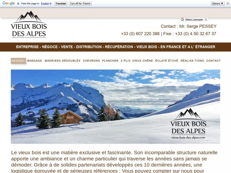 Vieux Bois des Alpes - La Clusaz