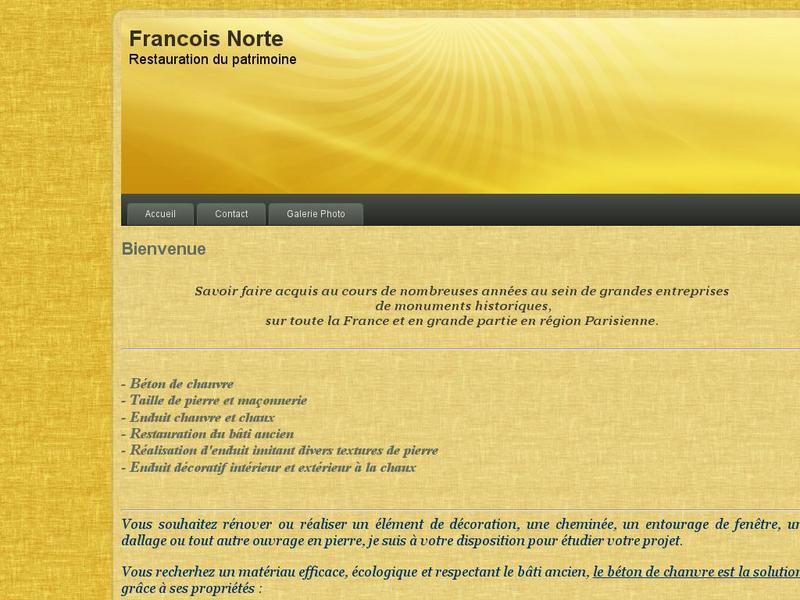 François Norte - www.francois-norte.fr
