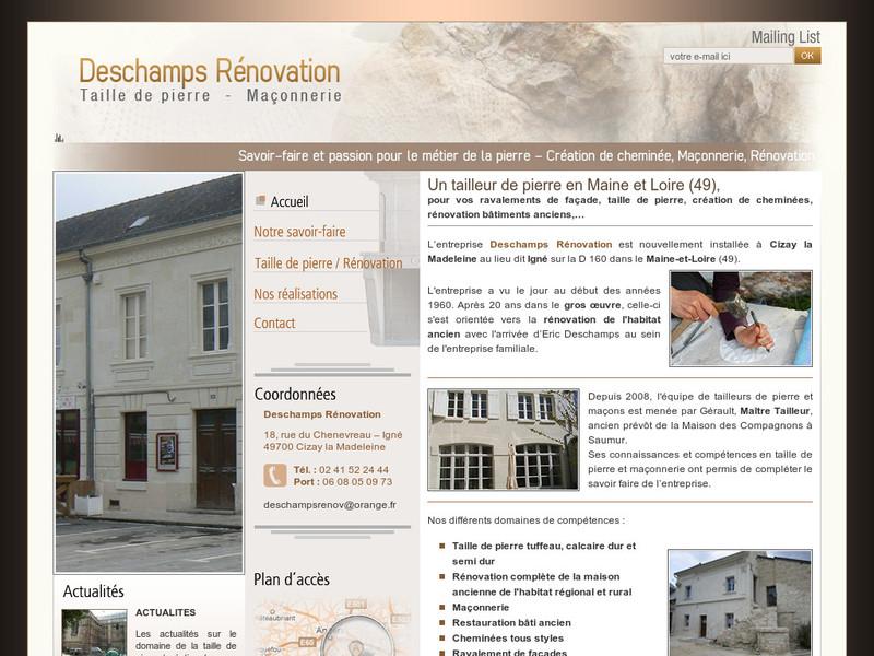 Deschamps Rénovation - Cizay la Madeleine