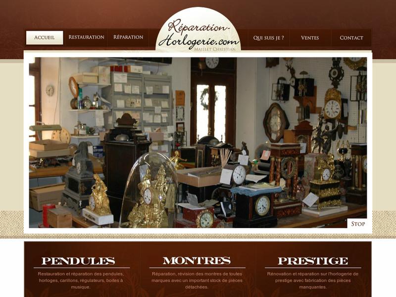 Christian Maillet - www.reparation-horlogerie.com