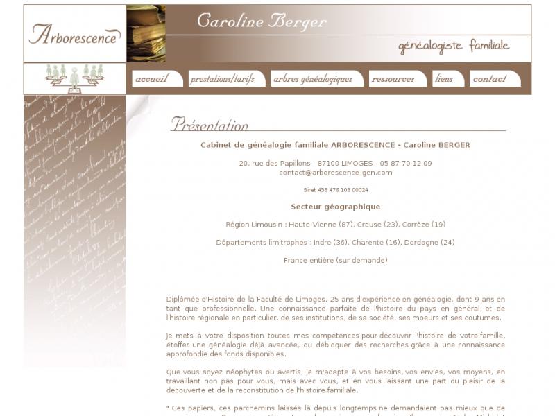 Arborescence - Limoges