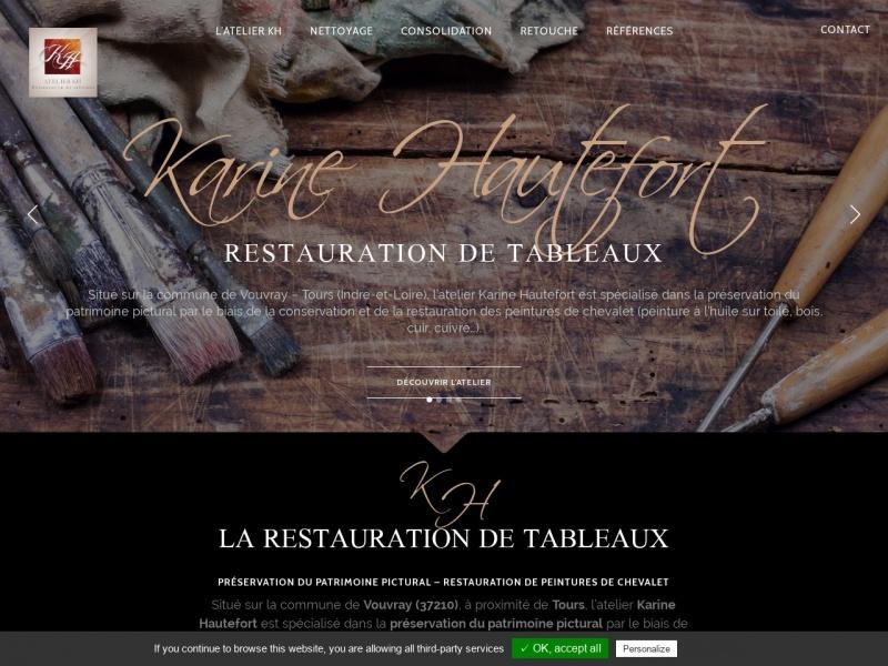 Karine Hautefort - www.conservation-restauration-tableaux.fr