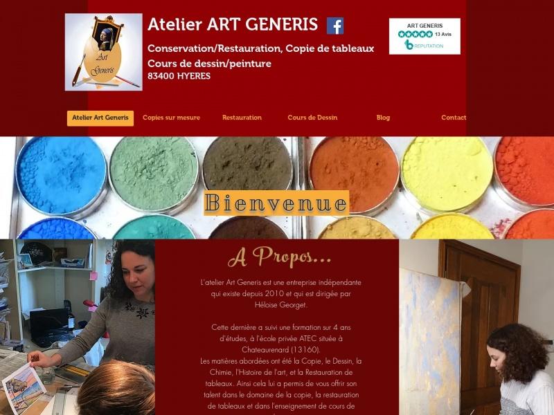 Héloise Georget - Atelier Art Generis - Hyeres