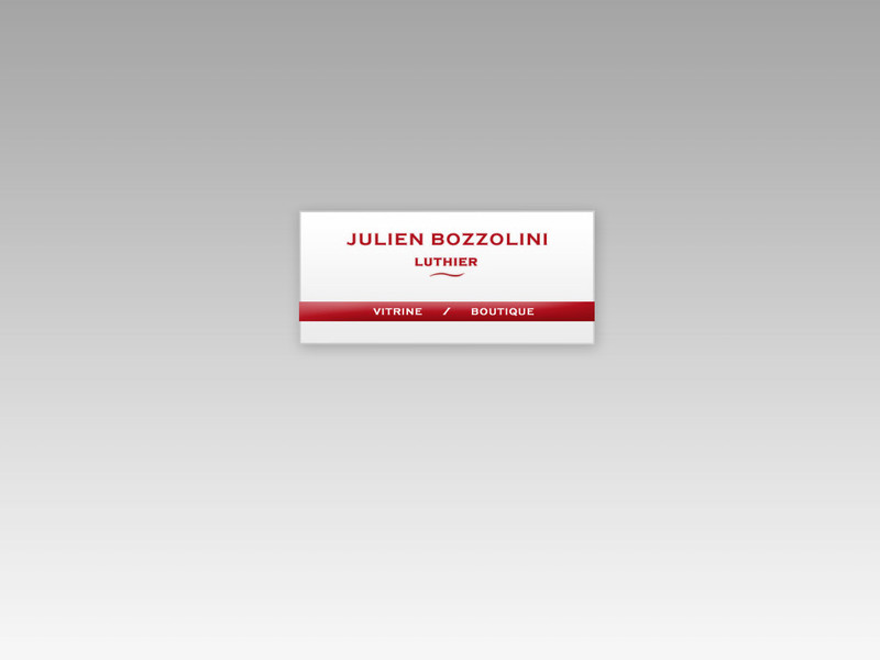 Julien Bozzolini - Sarcicourt