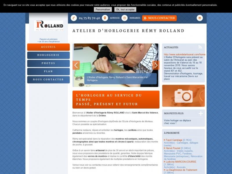 Atelier Rémy Rolland - Saint Marcel lès Valence