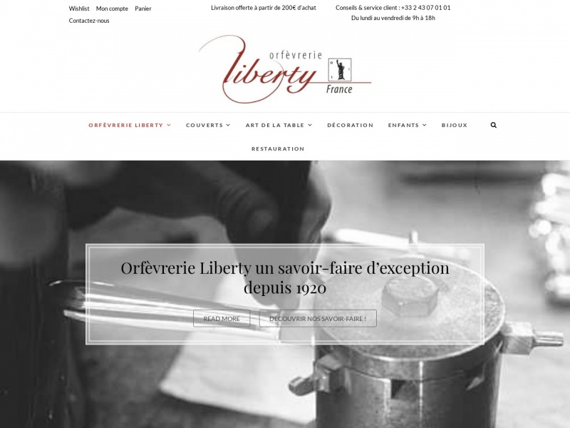 Orfèvrerie Liberty - Saint Fort