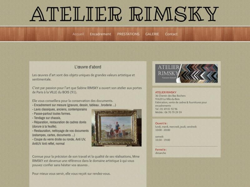 Atelier Rimsky - La Ville du Bois