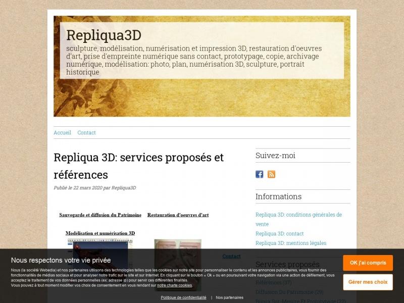 Repliqua 3D - Bracieux