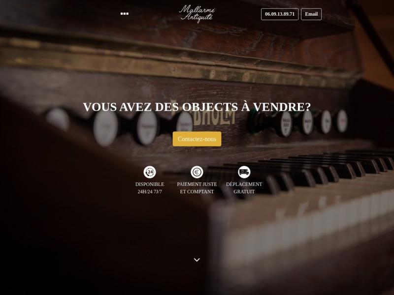 Antiquité Mallarmé - Saint Ouen
